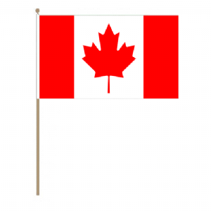 Canada Country Hand Flag - Large.
